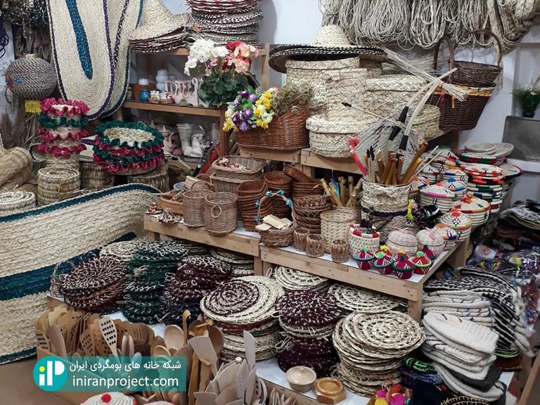 تصویری از فروشگاه صنایع دستی خانه بومگردی تلارخانه بردبار