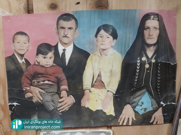 تصویری قدیمی از خانواده آقای محمدی، همسر خانم بردبار