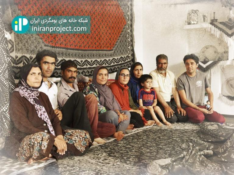 خانه بومگردی باجیلار؛ میزبانی یک خانواده سبلان نشین