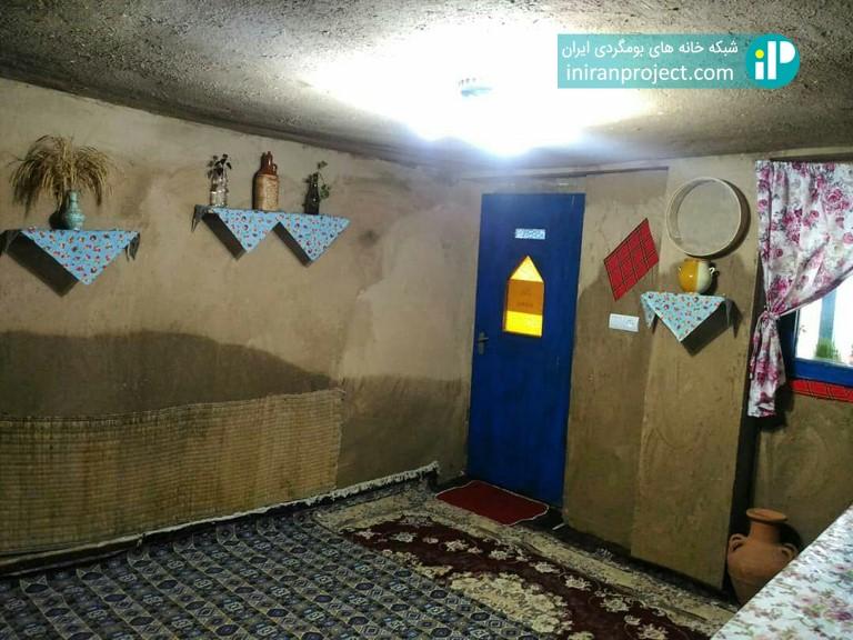 تصویری از نمای داخلی اتاق های خانه بومگردی دیلمای