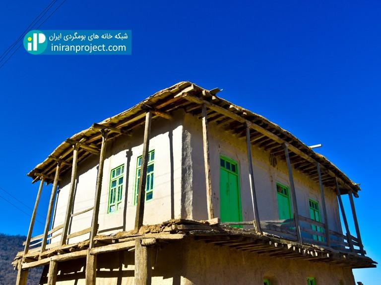 یکی از خانه های بومگردی استان گلستان