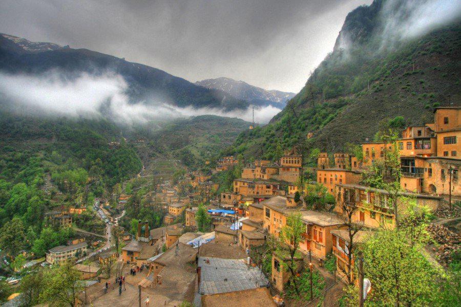 روستای پلکانی و طبیعت زیبای ماسوله