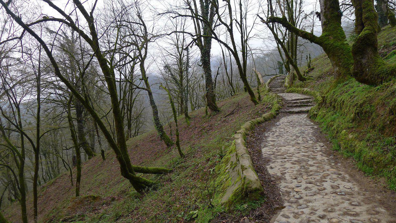 مسیری که باید طی کنید تا به قلعه رودخان برسید