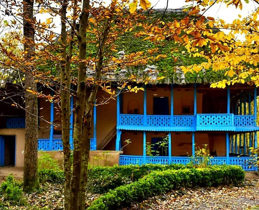 معماری سنتی در موزه میراث روستایی گیلان