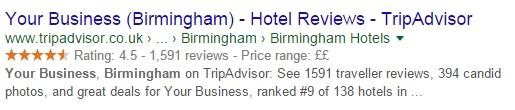 نمایش یک هتل با تمام اطلاعات در سایت تریپ ادوایزر