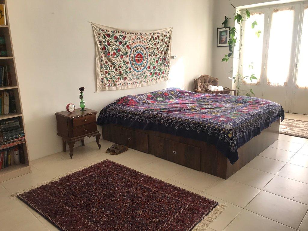 اتاق دابل در خانه بوتیک تهرانی