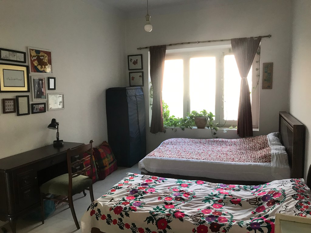 اتاق سه تخته در خانه بوتیک تهرانی