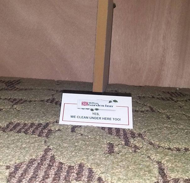 پیغام ویژه در زیر تخت شما